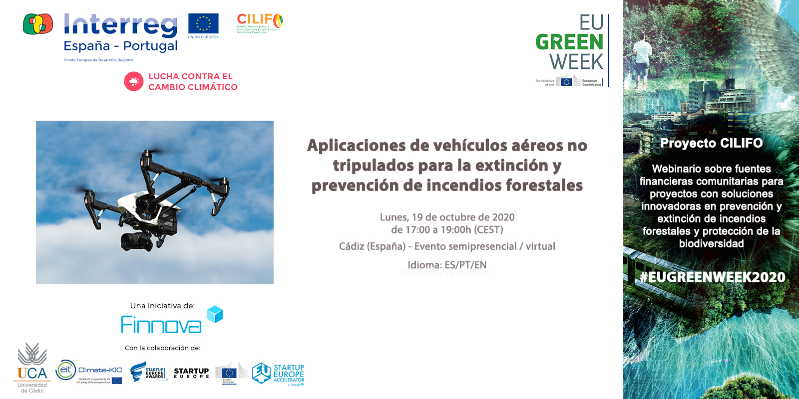 More than 100 people attend the third CILIFO webinar as part of #EUGreenWeek2020