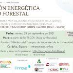 CILIFO presenta oportunidades de financiación europea para la gestión de residuos agrícolas y forestales en las Semanas Europeas de la Energía y del Desarrollo Sostenible